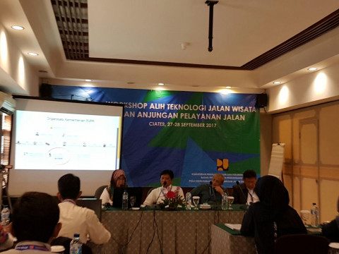 workshop Alih Teknologi Jalan Wisata dan Anjungan Pelayanan Jalan