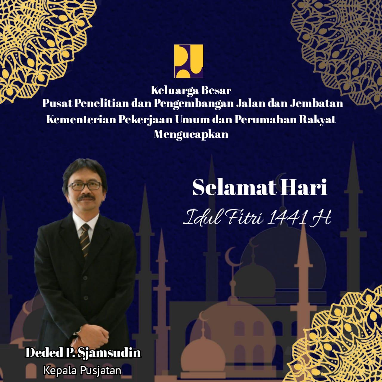 Selamat Menyambut Idul Fitri 1 Syawal  1441 Hijriah