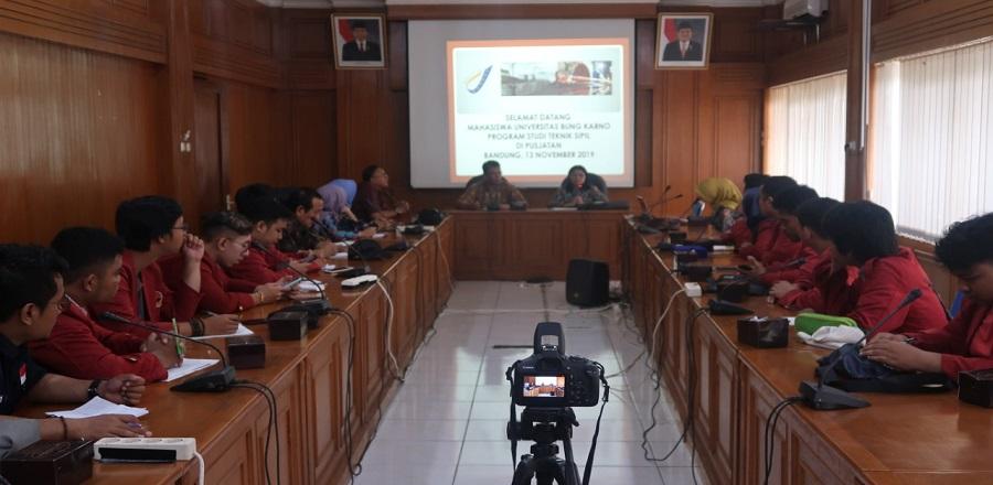 Kunjungan dari Universitas Bung Karno Program Studi Teknik Sipil.