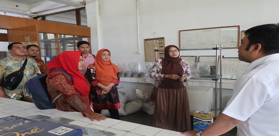 Kunjungan Dinas Pekerjaan Umum, Perumahan dan Energi Sumber Daya Mineral Daerah Istimewa Yogyakarta